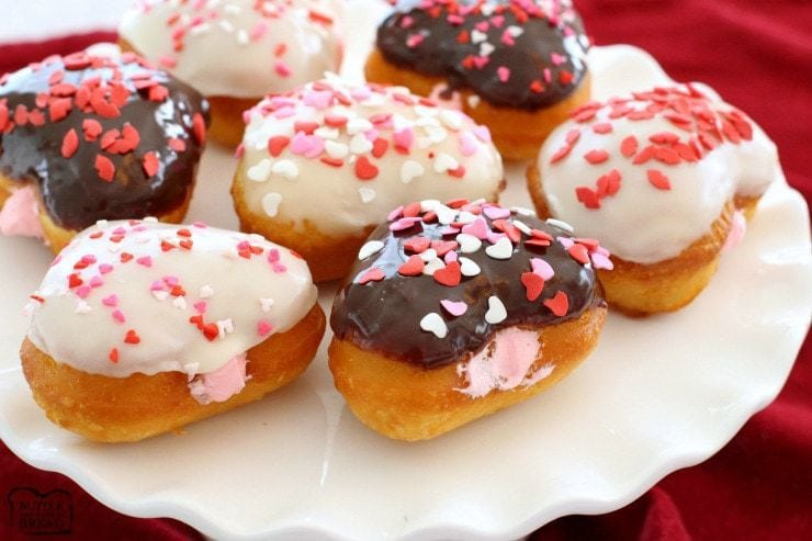 Recipe: Easy Valentines Donuts
