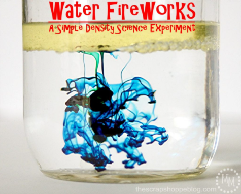 Fun Science Projects: Water Fireworks