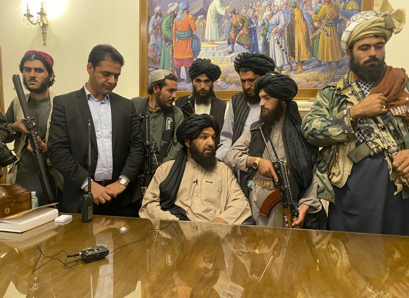 The+Taliban%E2%80%99s+Takeover+In+Afghanistan