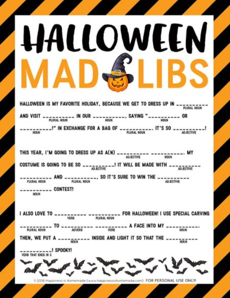 Madlibs